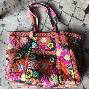 Vera Bradley iconic get carried away tote bag